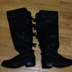 Torrid Over Knee Boots with Bows